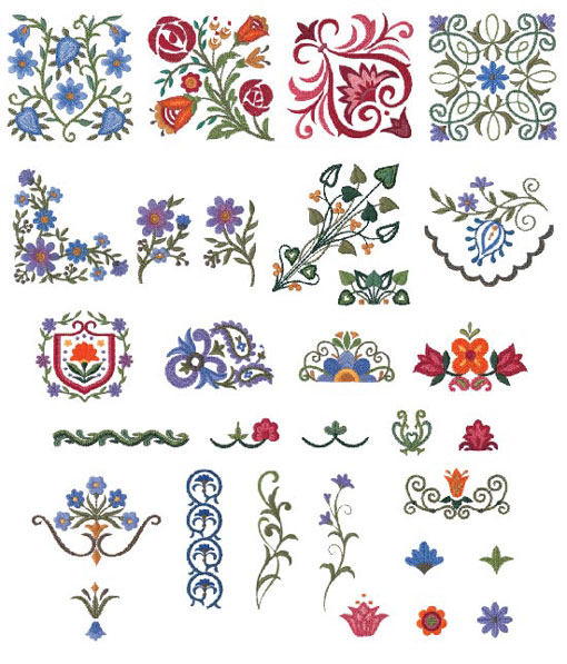 Brother embroidery machine cards embroidery origami for Descargar embroidery office design 7 5 full