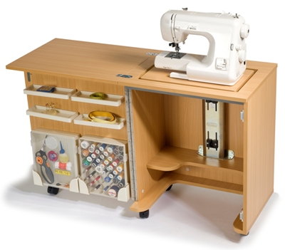This Revamped Entry Level Horn Sewing Cabinet With Just What You Need For And Storage The Super Compact Cub Plus Includes Loads Of
