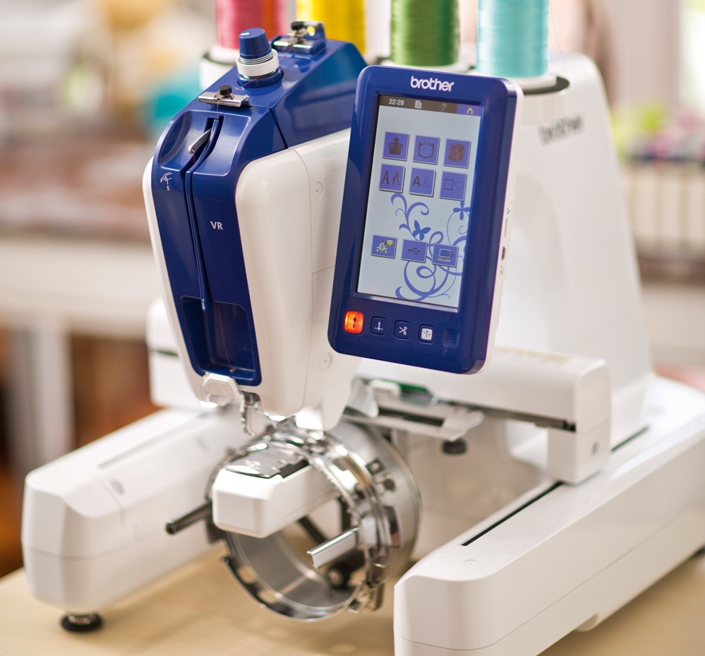 Brother Sewing Machines And Accessories VR Embroidery Machine