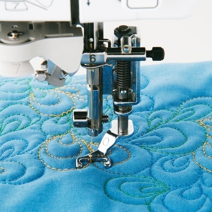 Brother Open Toe Quilting Foot - F061