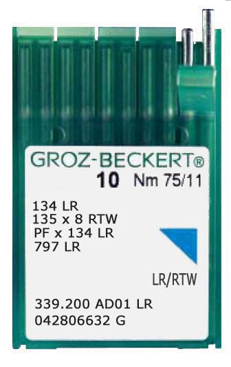 134 LR Industrial Leatherpoint Needles (10)