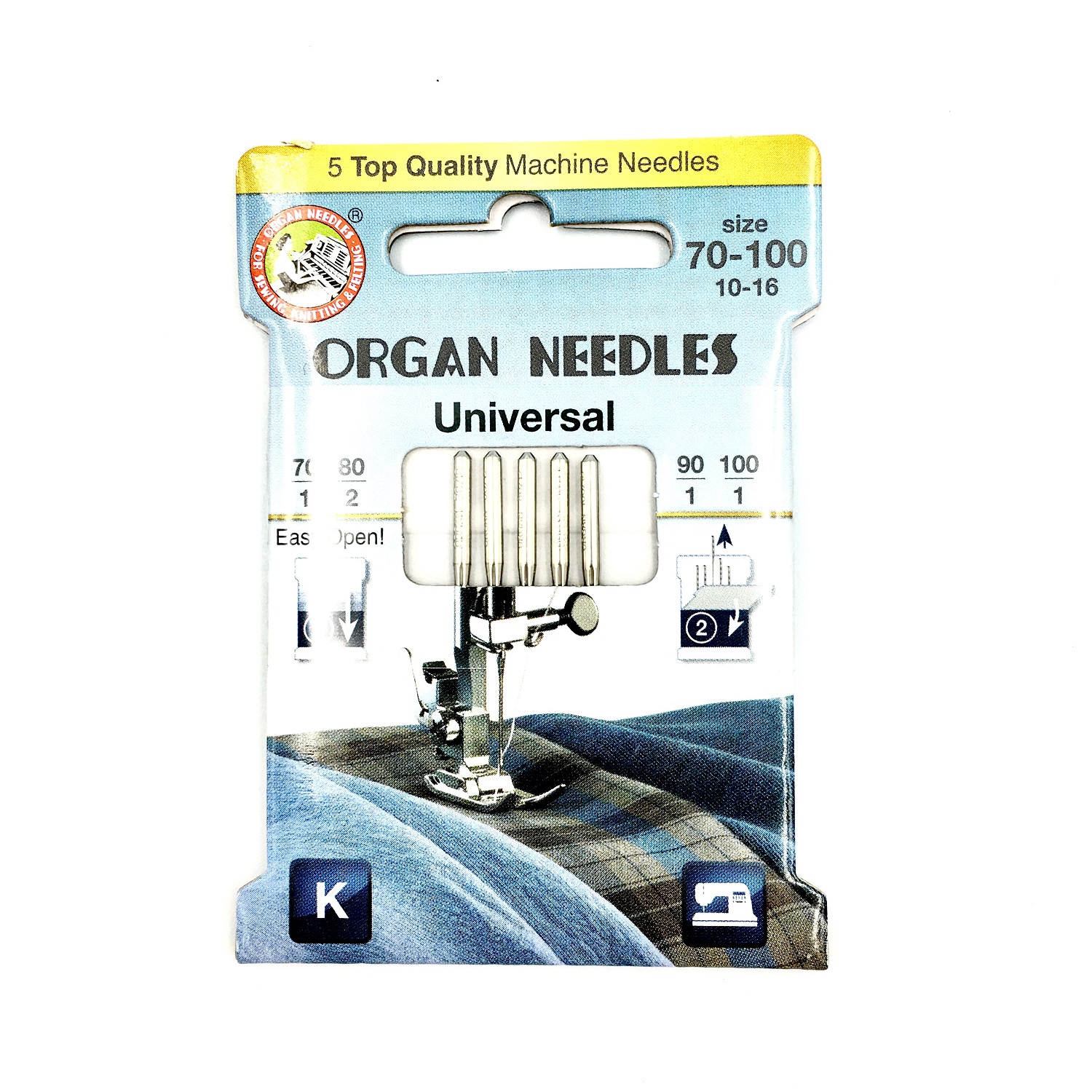 Organ 130/705H - Universal ECO 5-Pack Assorted sizes