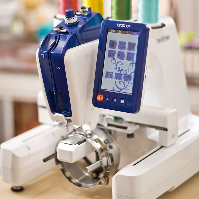 Vr Single Needle Embroidery Brother Brother Machines